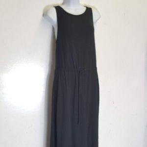 Lou & Grey black Maxi jersey dress